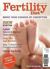 Fertility Diet: Boost Your Chances of Conception, Tasha Jennings, New condition,