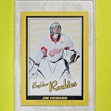 """JIM HOWARD  2005-06  """" BEEHIVE ROOKIES """"  #119  Detroit Red Wings"""