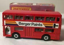 Matchbox Lesney Superfast 17f Daimler Londoner Bus - Berger Paints