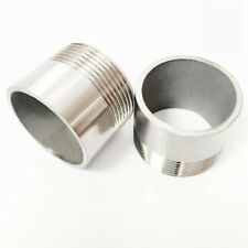 """1/2"""" BSP Female Thread 304SS Pipe Fitting Weld Nipple Coupling Connector For Air"""