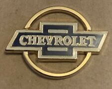 CHEVROLET BOWTIE LOGO BADGE lapel tie pin hat Chev Chevy Belair