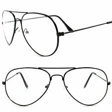 Classic Vintage Retro 80s 90s Fashion Black Frame Photochromic Lens Sun Glasses