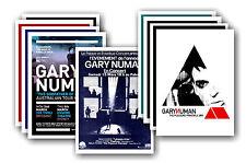GARY NUMAN - 10 promocional pósters - coleccionable juego de postales # 2