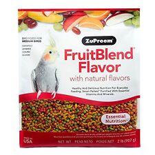Fruit Blend Diet For Medium Birds, 2-Pound NEW