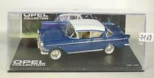 Opel Collection 1/43 Opel Kapitän PI Limousine 1958-1959 blau in Plexi Box #7169