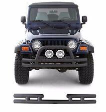Smittybilt Complete Textured Tubular Bumpers 1987-2006 Jeep Wrangler YJ TJ LJ
