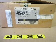 SQUARE D SY/NET CRM511 8030 SER A2 MULTI MEDIA NETWORK INTERFACE  MODULE  SYNET