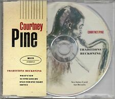 COURTNEY PINE -Traditions Beckoning- 4 track picture disc CD single