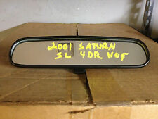 2001 SATURN SL1 4DR REAR VIEW MIRROR FREE SHIPPING! CT