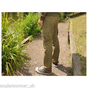 Korda Original Kombat Trousers / Military Olive / Rifle Green / Fishing Combat