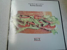 Robin Trower - B.L.T. [Chrysalis] (UK LP Ex. Vinyl)