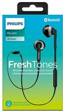 Philips SHB5250 Fresh Tones MyJam In- Ear Wireless Bluetooth Headset Black