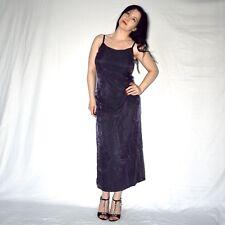 Thin Chiffon Evening Dress M (40) Maxi Sheath Cocktail Polo