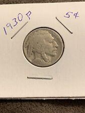 1930-P Buffalo 🇺🇸 Indian Head Nickel (F)  FREE SHIPPING 🚢