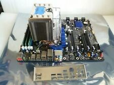 INTEL DX58S0 MOTHER BOARD + i7-980X CPU + 12GB MEMORY + IO COVER + HEAT SINK