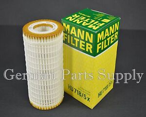 Mercedes-Benz  Mann Engine Oil Filter Fleece HU718/5X Germany