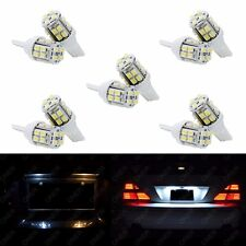 10 x T10 Pure White 20 SMD LED 168 194 2825 W5W For Ford License Plate Lights