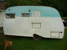 serro scotty sportsman camper 1967  15 foot vintage canned ham goucho airstream
