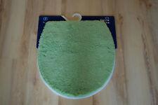 Alfombra de baño Kleine Wolke Suave Funda de la tapa Linde 47x50 Verde
