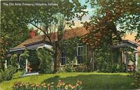 Corydon Indiana~Old State Treasury~1940 Linen Postcard