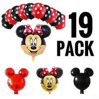 Minnie Mouse Birthday Party Decorations  Minnie Mouse Balloons set 19 Pack