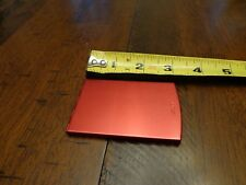 ZIPPO PROMOTIONAL PRODUCTS  RED ANODIZED COMPACT MIRROR MINT IN BOX