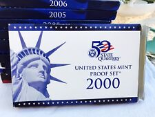 2000 US Mint Proof Set - S Boxed With COA