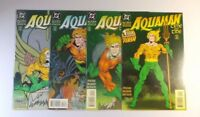 Aquaman: Time and Tide #1-4 NM to NM/MT COMPLETE SET 1993 DC Pristine, see pics!