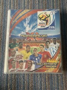 Panini Adrenalyn XL Fifa World Cup South Africa 2010 Almost Complete Binder