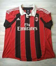 Ac Milan jersey 2Xl 2012 2013 home shirt X23680 football Adidas
