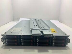 HP StorageWorks P2000 Dual I/O Expansion Array AP843B w/ 12x 2TB HDD AW555A