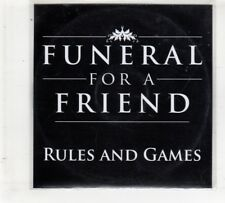 (HM719) Funeral For A Friend, Rules And Games - DJ CD