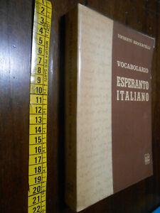 libro :Vocabolario esperanto - italiano Autore: Umberto Broccatelli