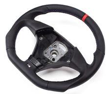 Abgeflacht Leder Lenkrad Lederlenkrad BMW M3 E46 Steering Wheel   P-ROT