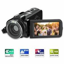 Regemoudal Full HD Video Camera 1080P Video Recorder 24MP 16x Digital Zoom