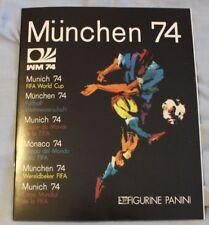 FIFA World Cup Soccer 1974 Mûnchen Germany PANINI Album reprint