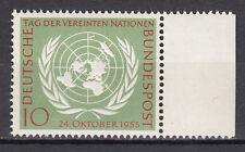 BRD 1955 Mi. Nr. 221 Postfrisch mit Seitenrand TOP!!! (21533)