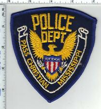 Pass Christian Police (Mississippi) Shoulder Patch  from the 1980's