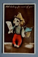 R&L Postcard: Novelty Squeaker Dressed Dog, HB