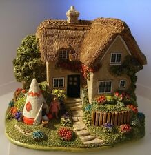 LILLIPUT LANE AWAY FROM HOME COTTAGE L2491 ( SIGNED ) NEW WITH BOX & CERTIFICATE