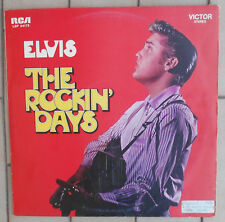 "ELVIS PRESLEY DISCO LP 33 GIRI 12"" THE ROCKIN' DAYS - ITA RCA VICTOR LSP 34175"