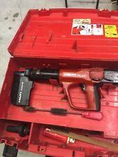 Hilti DX A41 Powder Actuated Nail Gun w/ Case & Accessories