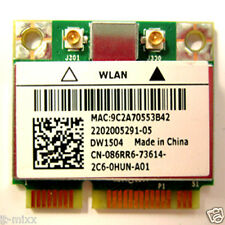 DELL BCM94313HMG2L  CN-86RR6  Half-Mini PCi Express/ Wifi Card Dell DW1504 WLAN