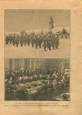 Occupation British Army Cologne Köln / Locarno Treaties London 1925 ILLUSTRATION