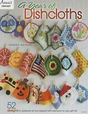 Crochet Book -A Year of Dishcloths by Maggie Weldon (Paperback / softback, 2016)