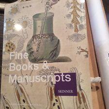 Fine Books and Manuscripts Catalog, Skinner, November 2012