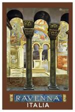 Italia Ravenna Vintage Travel Art Print Mural Poster 36x54 inch