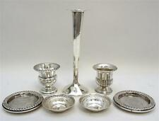7 PC STERLING SILVER CANDLE - NUTS - +