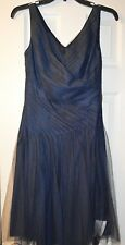 Lauren Ralph Lauren Navy Evening Dress Size 2