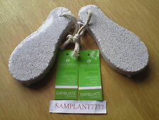 Spa Sense Pumice Stone x 2 For The Removal Of Callus Hard Foot Skin FREE POSTAGE